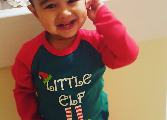 Christmas'Little Elf' Pyjamas