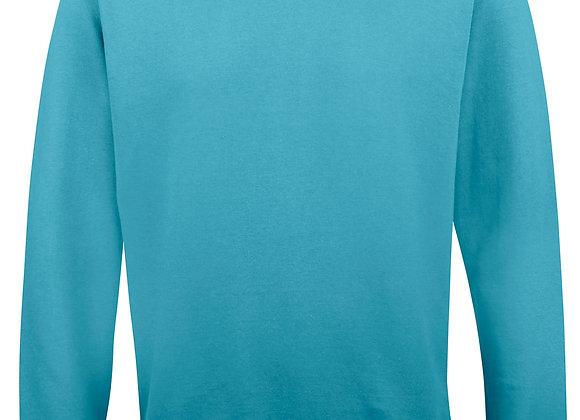 Unisex fit sweatshirt Turquoise Surf - XS