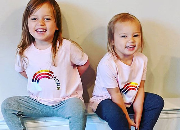 Rainbow of Hope - Childrens T-shirt