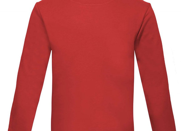 Red Long Sleeve t-shirt 4-5 years