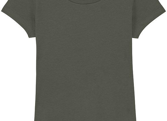 Organic Cotton T-shirt Khaki -S