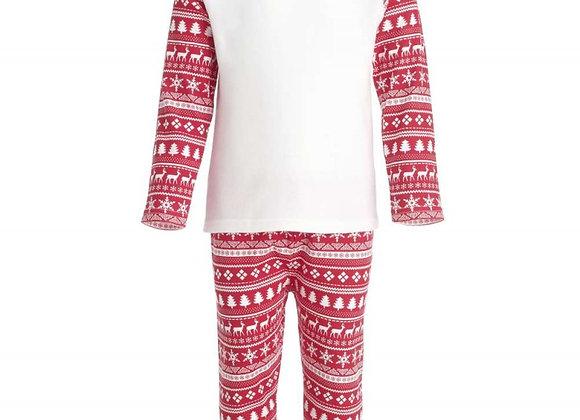 Red Christmas Inspired Design Pyjama Set 1-2 years