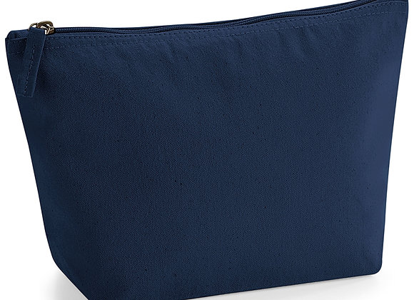 Navy Make Up Bag - Name
