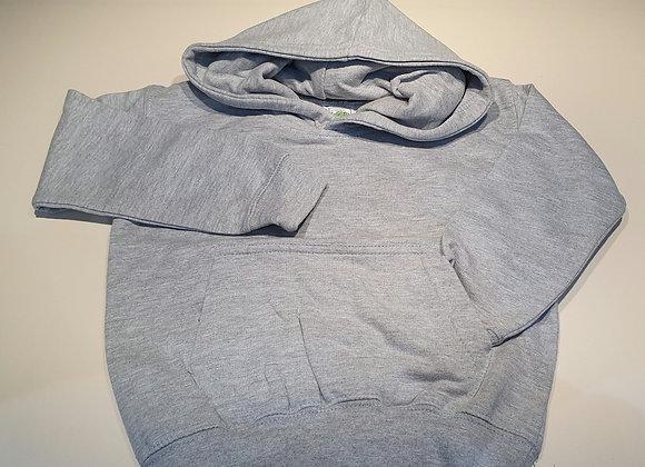 Grey hoodie fleece lined 9-12 mths