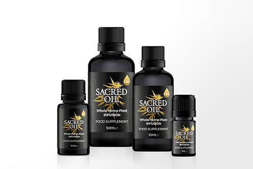 Sacred Oil CBD+
