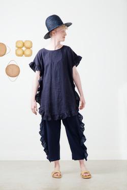 lemrian seed mid+ larimar pants-navy