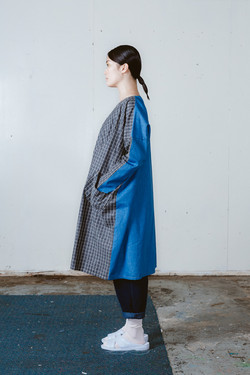 pyrite dress check_cornflower