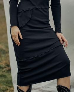 sequence dress BN black-12