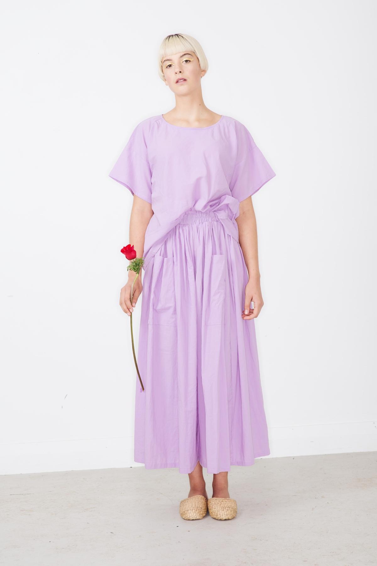 pyrite top+garnet wide pants -lilac