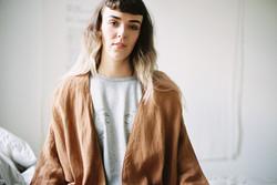 tanzanite jacket+sara top