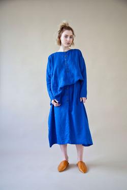 sunstone top+tourmaline skirt