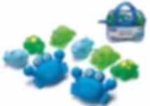 PLAYGRO Bathtime Squirtees 8pk (Boy Version)