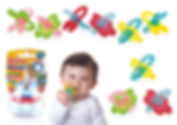 NB642 Chewbies Silicone Teether