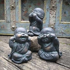 Set of 3 Monks