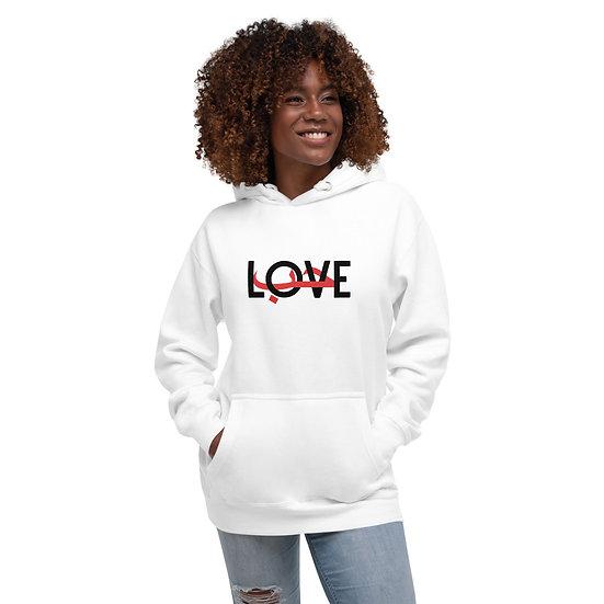 Love (Arabic) Unisex Hoodie