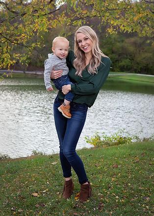Cassie 2020 with son.jpg