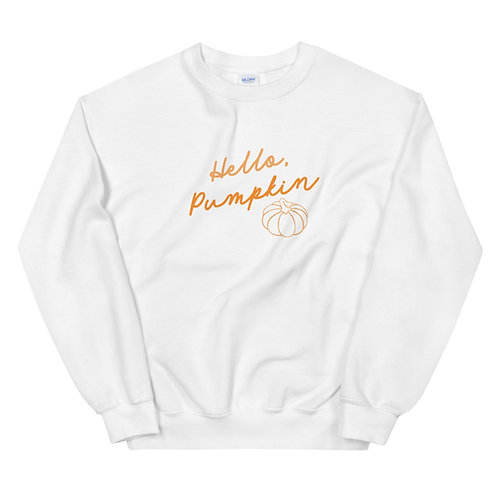 Hello, Pumpkin Pullover