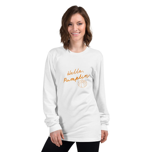 Hello, Pumpkin Long Sleeve