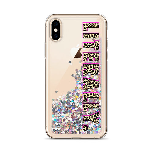 LITERALLY. Leopard iPhone Case