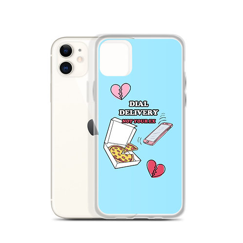 Dial Delivery iPhone Case