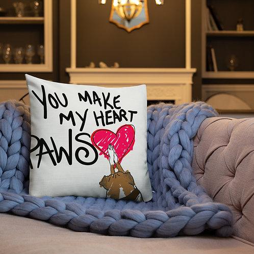 Heart Paws Pillow