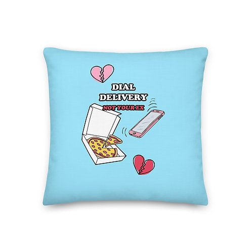 Dial Delivery Throw PIllow