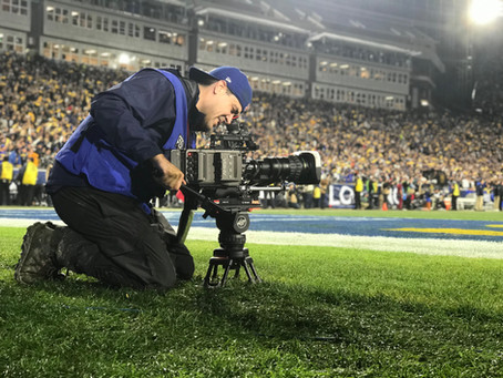 My football cinematography gear