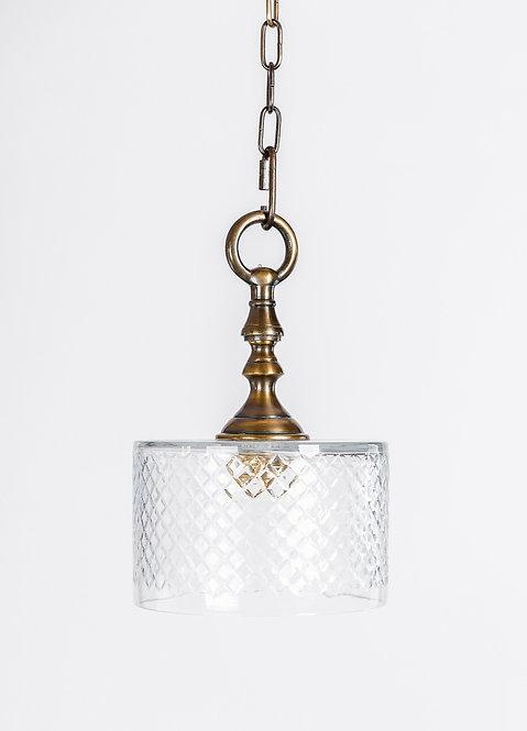 מנורת תלייה זכוכית - ריו