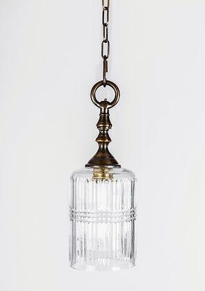 מנורת תלייה זכוכית - עדה