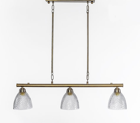 מנורת תלייה צינור - בועז