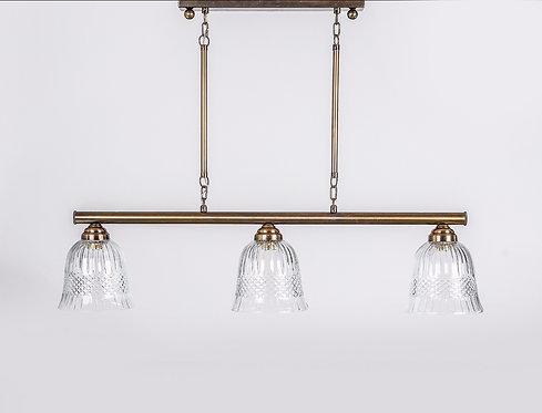 מנורת תלייה צינור - קרן