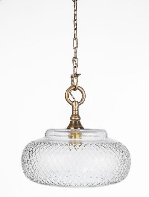 מנורת תלייה זכוכית - אודם