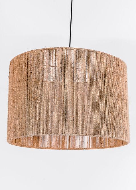 מנורת תלייה זכוכית כבל בד -דור