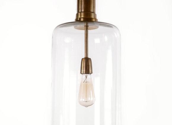 מנורת תלייה זכוכית - אבישי