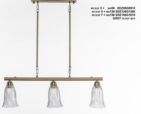 מנורת תלייה צינור - ליטן