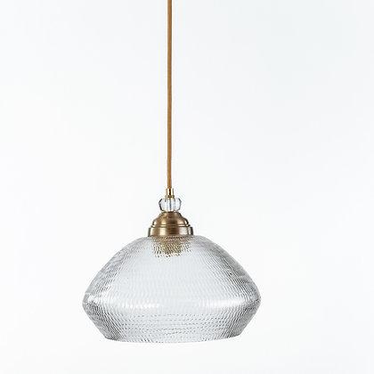 מנורת תלייה זכוכית כבל בד -גאלה