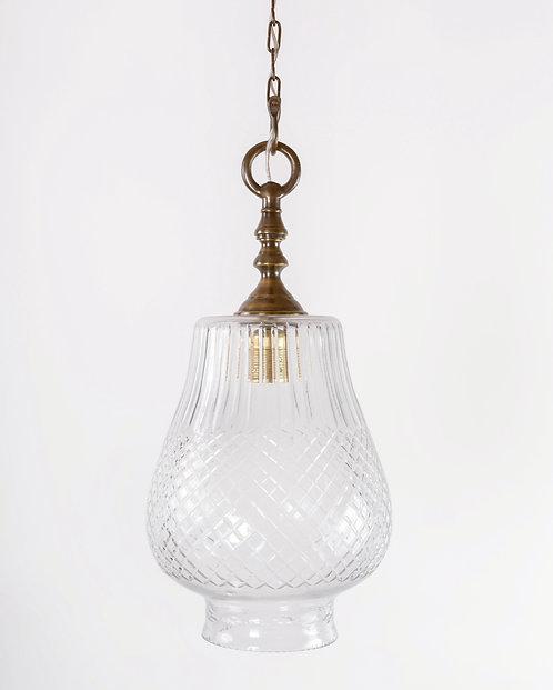 מנורת תלייה זכוכית - עינת
