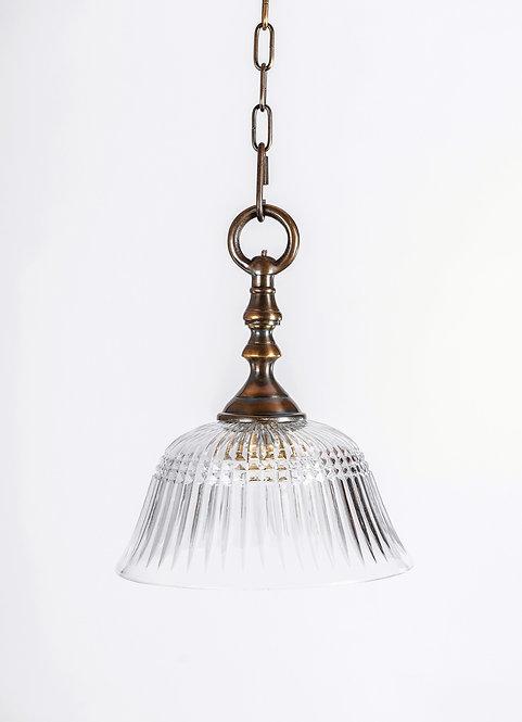 מנורת תלייה זכוכית - עטרה