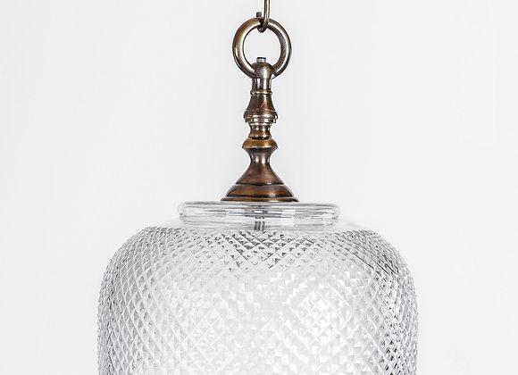 מנורת תלייה זכוכית -נהורה