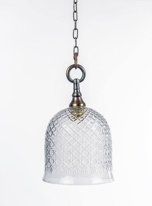 מנורת תלייה זכוכית -לין