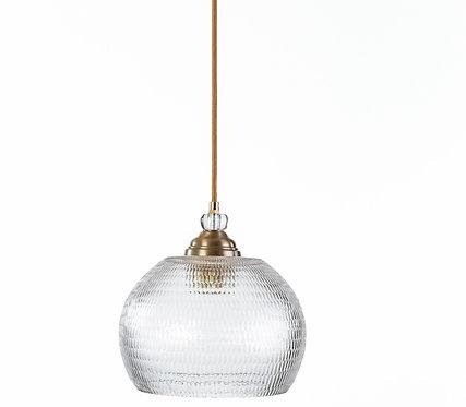 מנורת תלייה זכוכית כבל בד -דילן