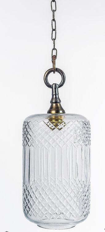 מנורת תלייה זכוכית -ליטל