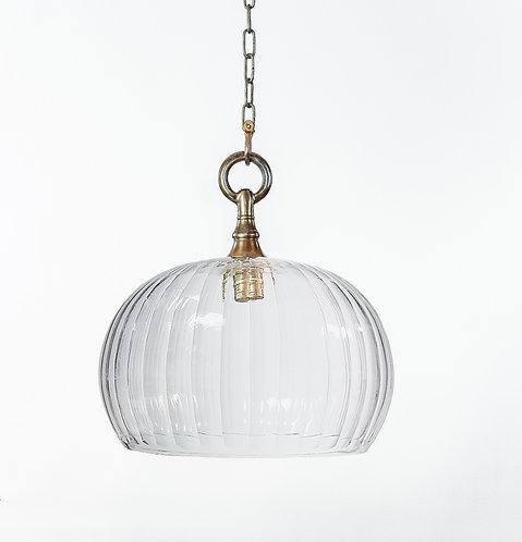 מנורת תלייה זכוכית -מלאכי