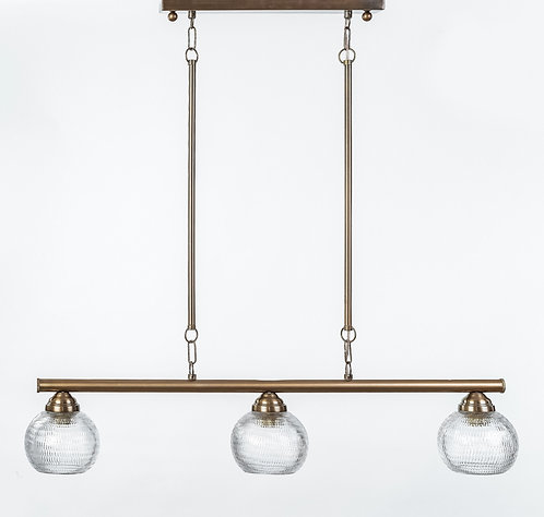 מנורת תלייה צינור - תובל