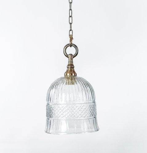 מנורת תלייה זכוכית -מורין