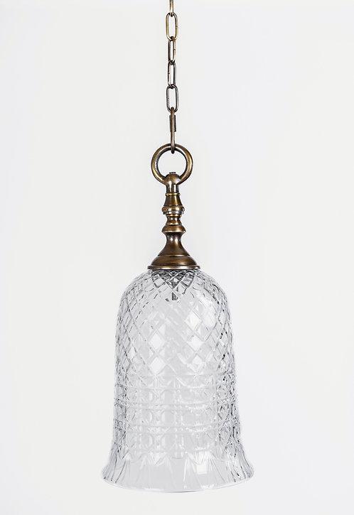 מנורת תלייה זכוכית - רביב