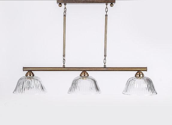 מנורת תלייה צינור - קסם