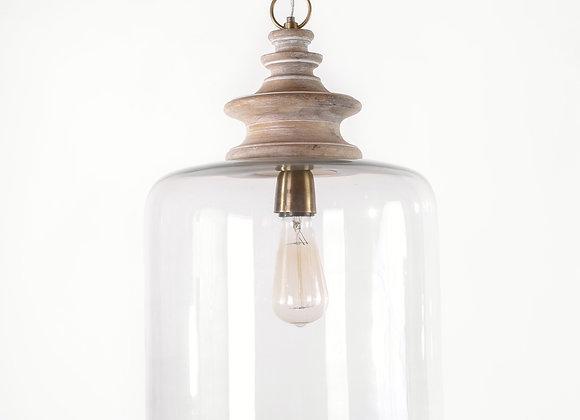 מנורת תלייה זכוכית - שירית