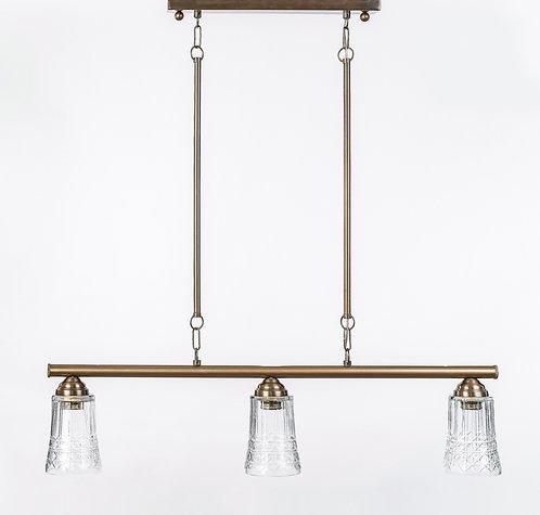 מנורת תלייה צינור - בת חן