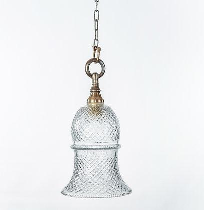 מנורת תלייה זכוכית -אביה